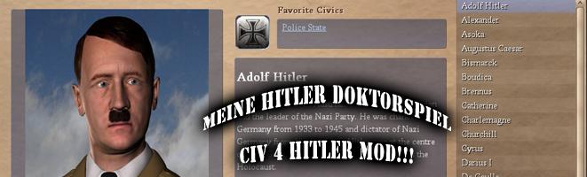 Civilization 4 Hitler Mod Nazi Germany