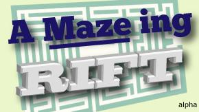 a maze ing rift
