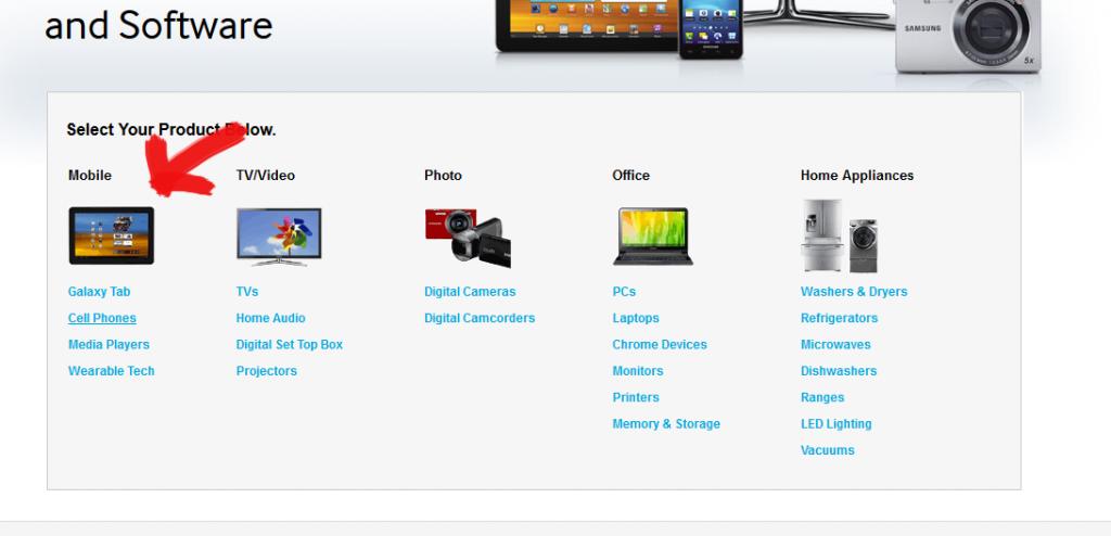 Samsung USB drivers