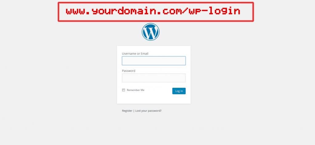 How to login to wp dash screenshot