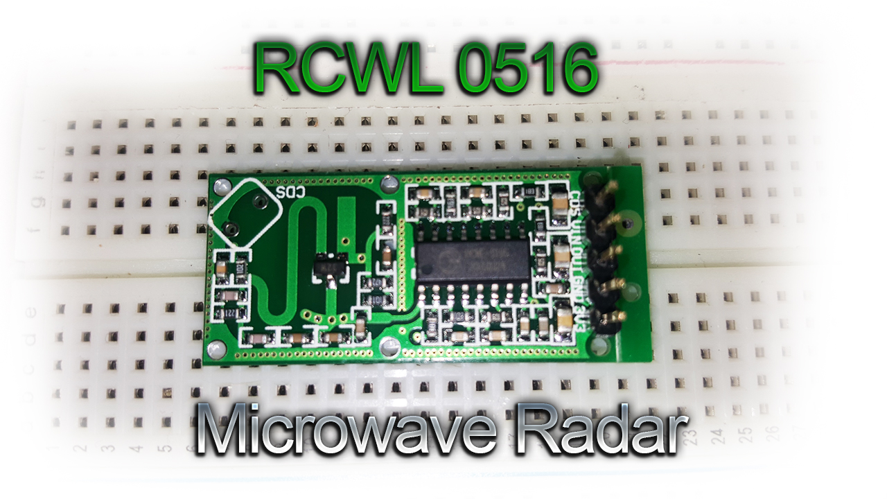 Rcwl 0516 Microwave Radar Motion Sensor For Arduino Test And Review Pirsensorinterfacecircuitdiagram The Module Is A Low Cost That Has Been Newly Added To Icstation Inventory